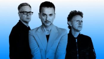 Depeche Mode blue header