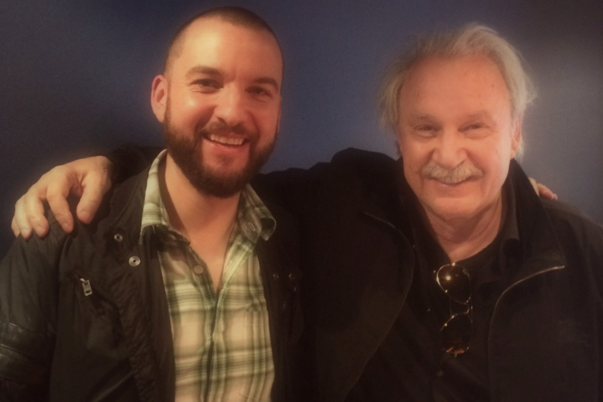 Phil Marriott & Giorgio Moroder - London 2015