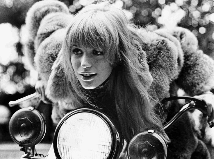 Marianne Faithfull The Girl On A Motorcycle