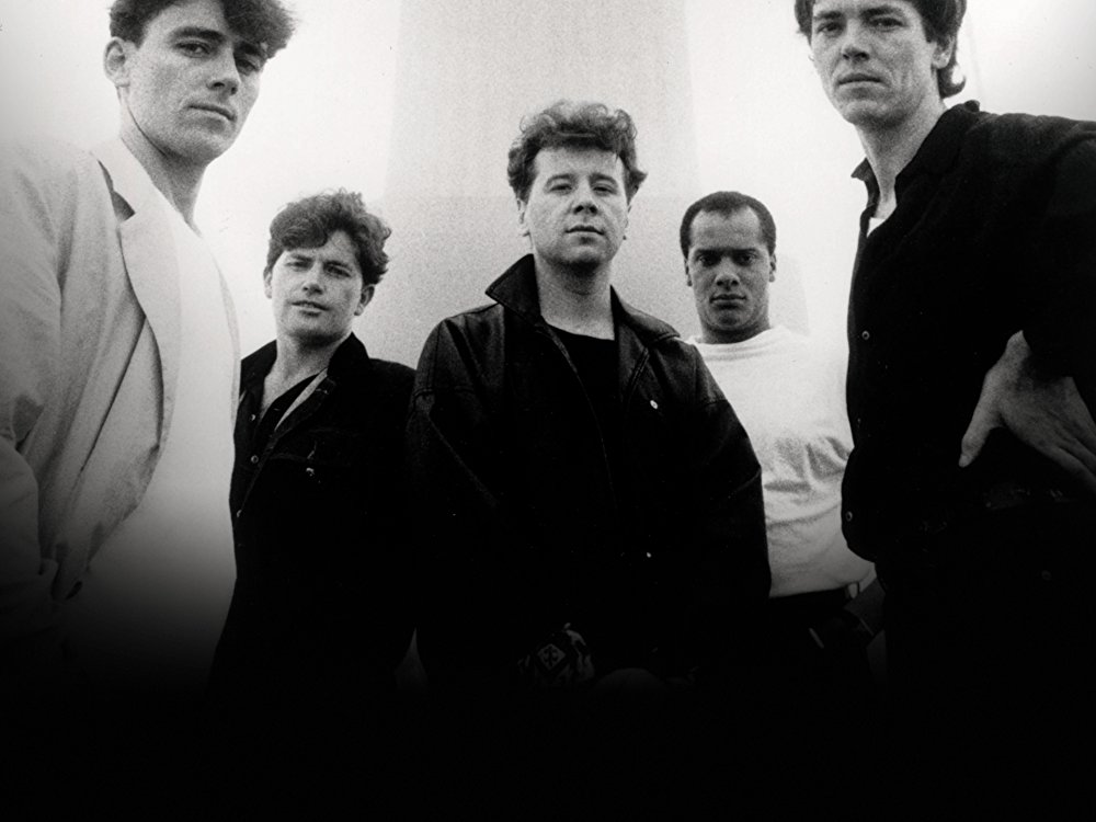 Simple Minds BW
